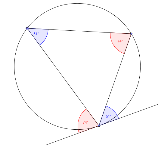Circle Theorems Exam Questions Web Maths Answers Angles In A Circle With Worked Solutions