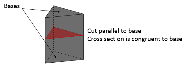 cross section prism