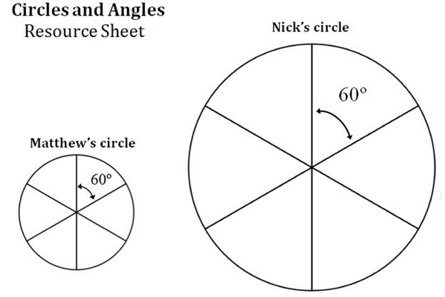 circle angles