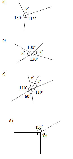 math worksheet : angles at a point worksheets and solutions : Math Angles Worksheets