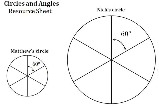Circles and Angles with videos worksheets games activities – Angles in a Circle Worksheet