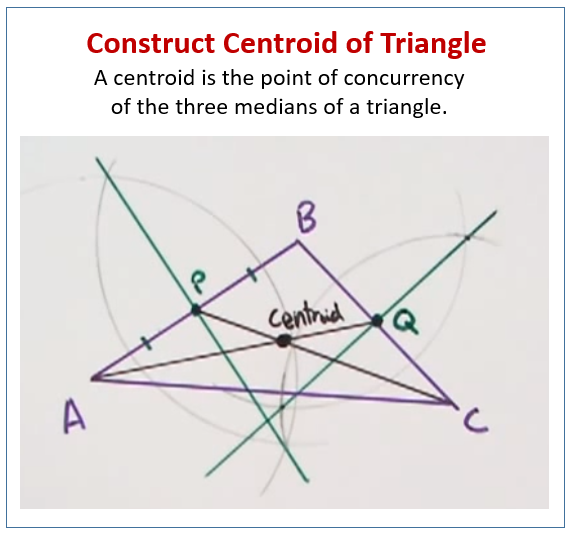 Construct Centroid Triangle