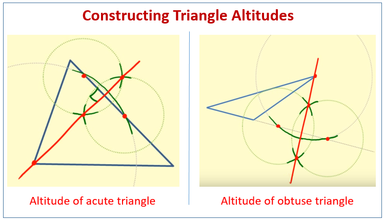Construct Triangle Altitudes