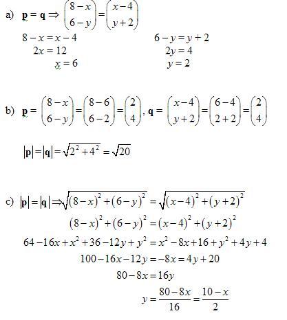 Equal Vectors (solutions, examples, videos)