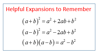 Expand Expressions