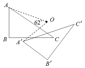 find angle of rotation