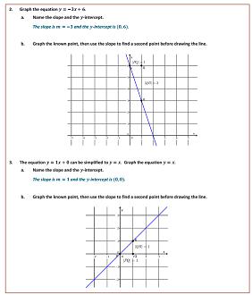 Worksheets Grade 8 Module 4 Lesson 18