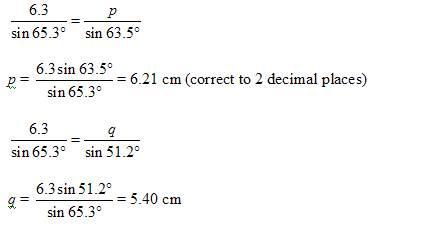 law of sines worksheets