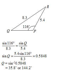 Law Of Sines Or Sine Rule Solutions Examples Videos