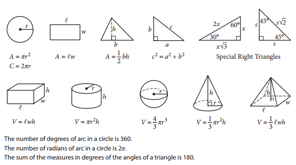 New SAT Math Test and Practice Questions – Sat Prep Math Worksheets