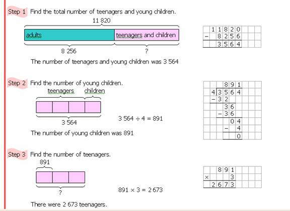 Number Word Problems Worksheet And Solutions