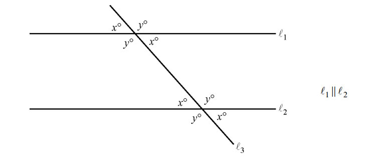 parallel-lines Mathway Angles on