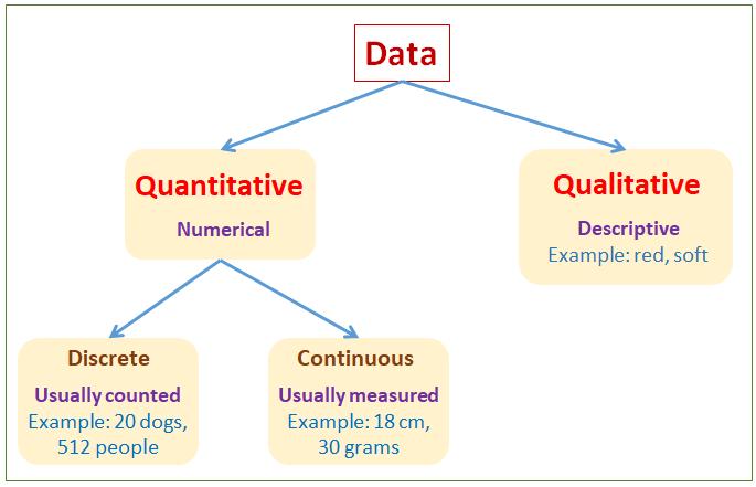 qualitative quantitative data