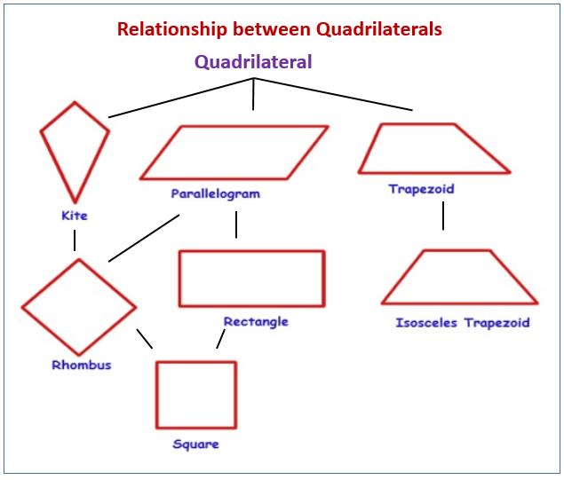 Relationship between Quadrilaterals