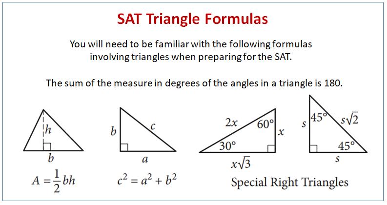 SAT Triangles