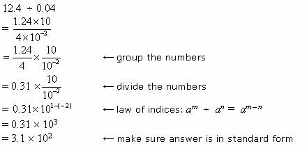 Dividing Numbers In Scientific Notation Solutions Examples