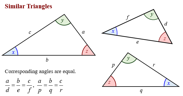 Similar Triangles solutions examples videos – Similar Triangles Proportions Worksheet
