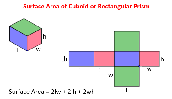 Surface Area Of Cuboid Solutions Examples Videos