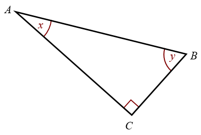 Hypotenuse Adjacent Opposite Sides Solutions Examples Videos