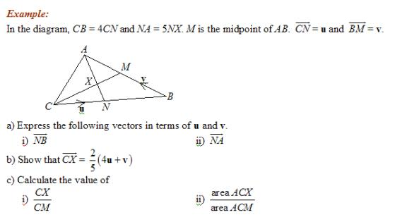 Vector Geometry solutions examples videos – Vectors Worksheet