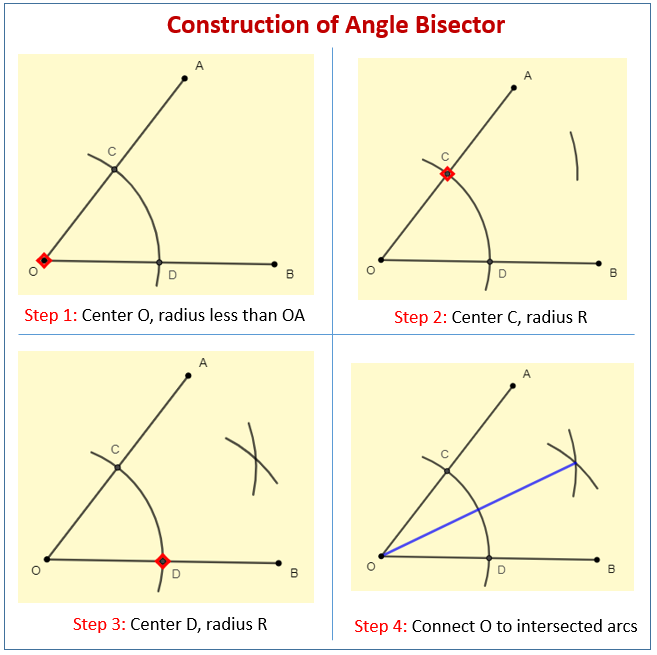 Construct Angle Bisector