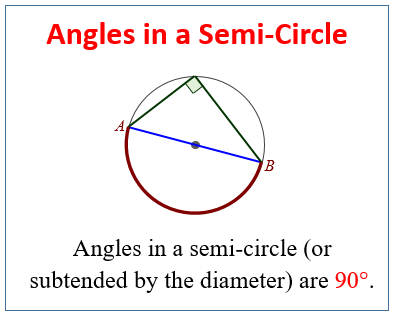 Angles in a Semi-Circle
