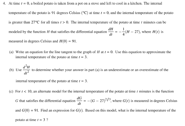 Ap Calculus Ab 2017 Exam Solutions Questions Videos