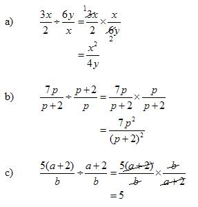 Divide Rational Expressions (solutions, examples, videos)