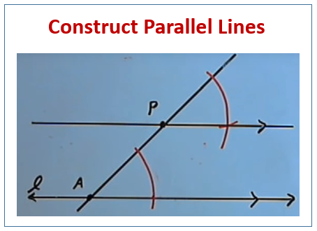 Construct Parallel Lines