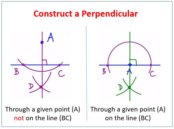 Construct a Perpendicular