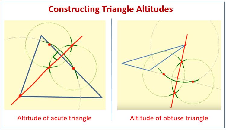 Construct Triangle Altitudes