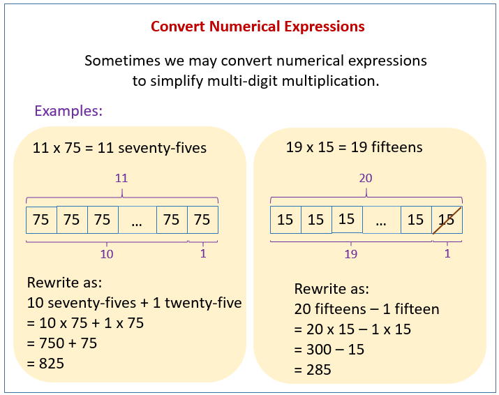Convert Numerical Expressions