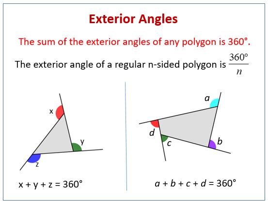 Exterior Angles