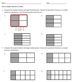 Worksheets Grade 4 Module 5 Lesson 9