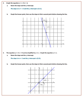 Worksheets Grade 8 Module 4 Lesson 18
