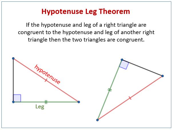 Hypotenuse Leg Theorem