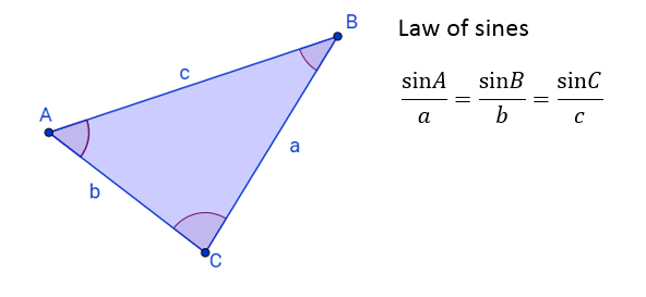 Law of Sines or Sine Rule (solutions, examples, videos)