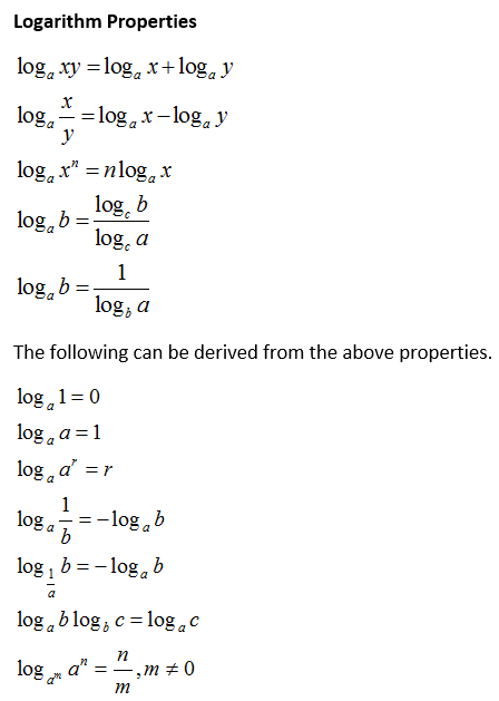 Proofs of Logarithm Properties (solutions, examples, games, videos)