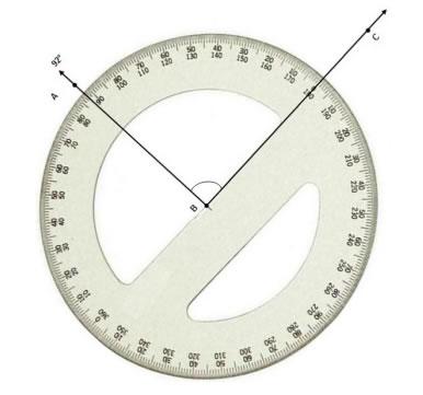 Measure Angle Protractor