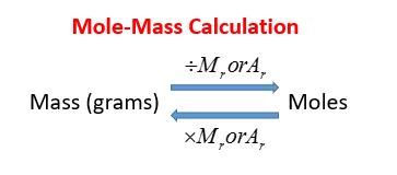 Mole-mass Calculation
