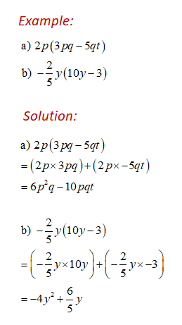 Multiplying Expressions Example