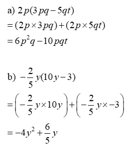 Multiplying Expressions Solution