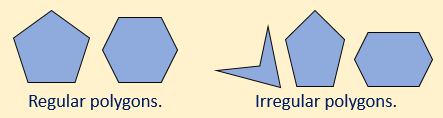 regular irregular polygons