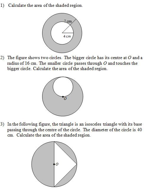 shaded circle regions